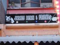 James Dean and Friend