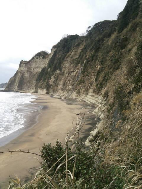 釣師海岸(長浜海岸)