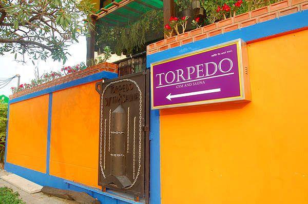 TORPEDO SAUNAの写真