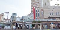 小田急相模原駅付近