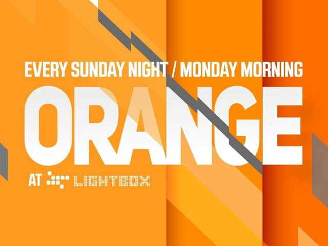 Orange @ Lightbox