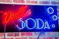 Vodka Soda/ Bottoms Up