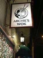 Archie's Wok