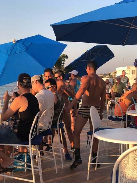 Blue Sunset Rooftop Bar