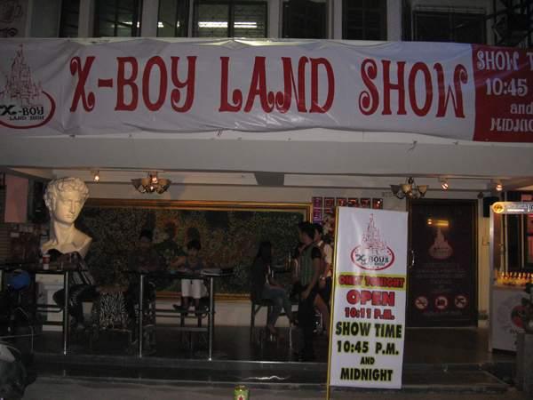 X-BOY LAND SHOW