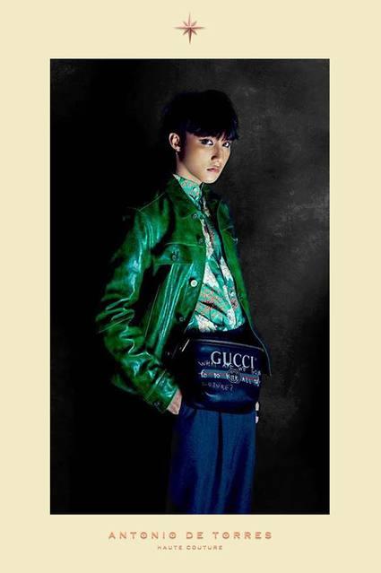 Antonio De Torres Haute Couture for Men